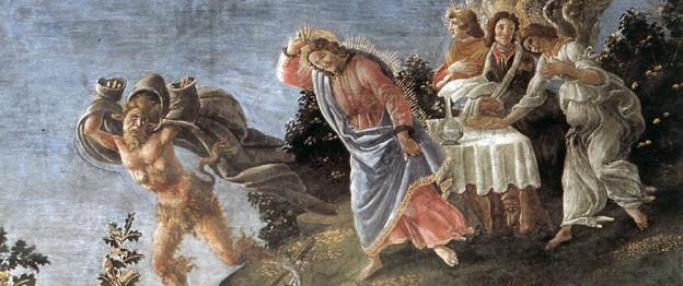 Botticelli, Temptation of Christ
